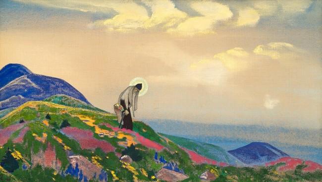 Panteleimon the Healer, Nicholas Roerich - description of the painting